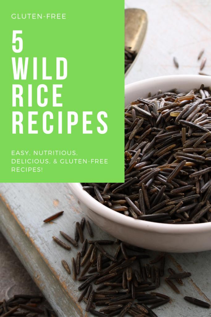 gluten free wild rice recipes