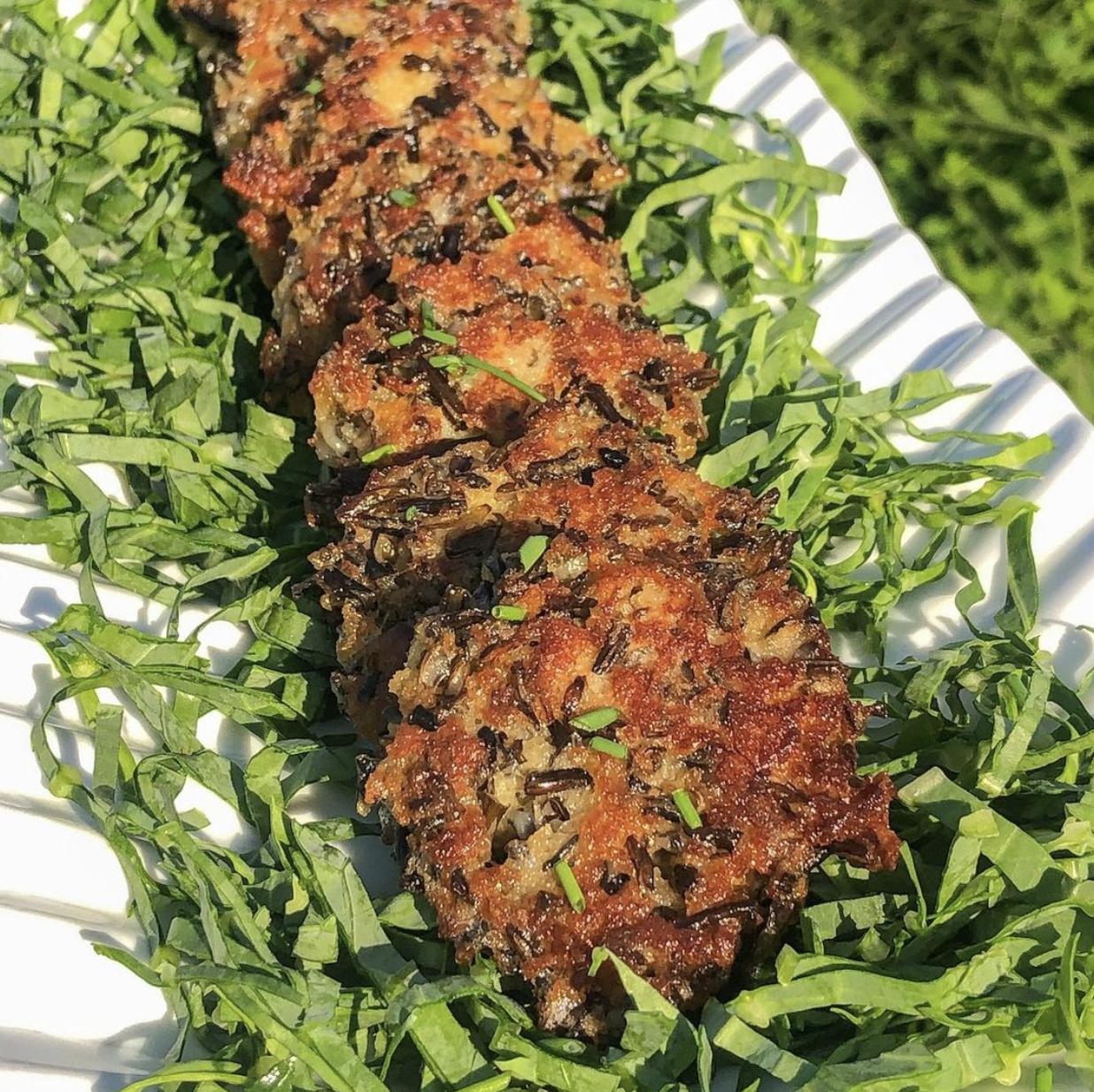Oregon Wild Rice Bites recipe